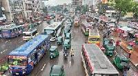 ঢাকার রাস্তায় চলাচল শুরু হলো গণপরিবহন-ফাইল ফটো-