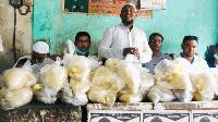 কমলগঞ্জে আলোর দিশারী সমাজকল্যাণ পরিষদের উদ্যোগে ঈদ সামগ্রী বিতরণ